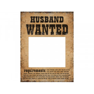 Tabliczki Husband Wanted i...