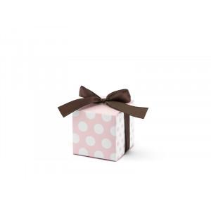 Pudełeczka w kropki, różowy...