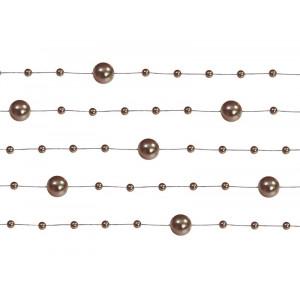 Girlandy perłowe, brąz,...