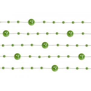 Girlandy perłowe, zielony,...