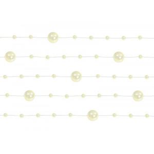 Girlandy perłowe, kremowy,...