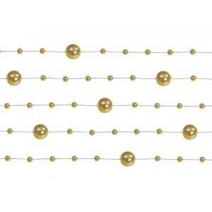 Girlandy perłowe, złoty,...