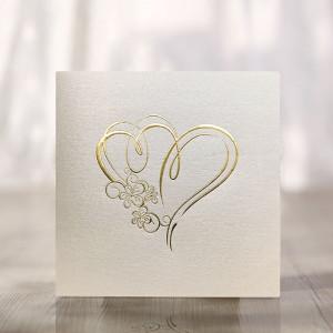 Zaproszenia Ślubne Złocone...