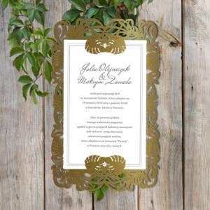 Zaproszenia Ślubne w formie...