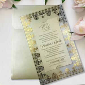 Zaproszenie ślubne ze...