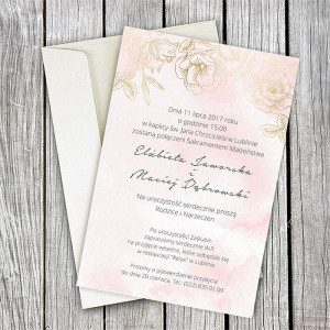 Zaproszenie Ślubne w...