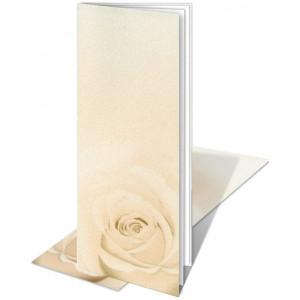 Zaproszenia z Różą S110069
