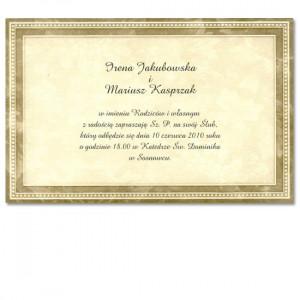 Zaproszenie w Formie Ramki...