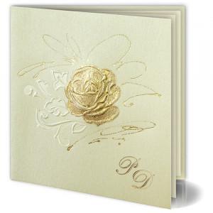 Zaproszenia z Złotą Różą...