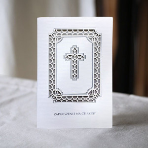 Zaproszenie na Chrzest z...