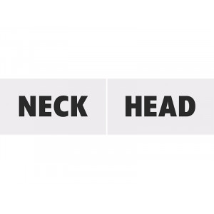 Tabliczki tekturowe Head...