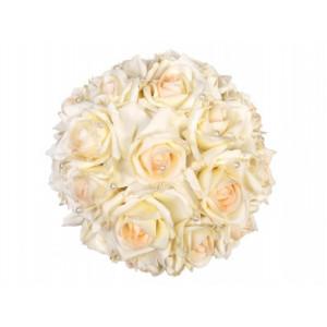 Bukiet z róż z perełkami,...